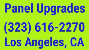 panel upgrade Los Angeles